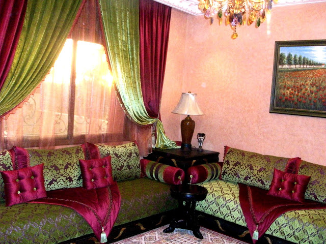 Salon Marocain Beldi Pour Un Riad Royal Pictures to pin on ...